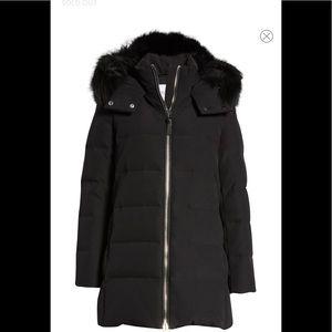DEREK LAM 10 CROSBY Down Hooded Jacket.